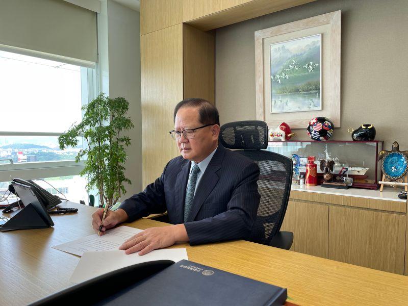 ▲陳國恩退休後華麗轉身,出任中國信託育樂公司董事長。(圖/中國信託育樂公司提供)