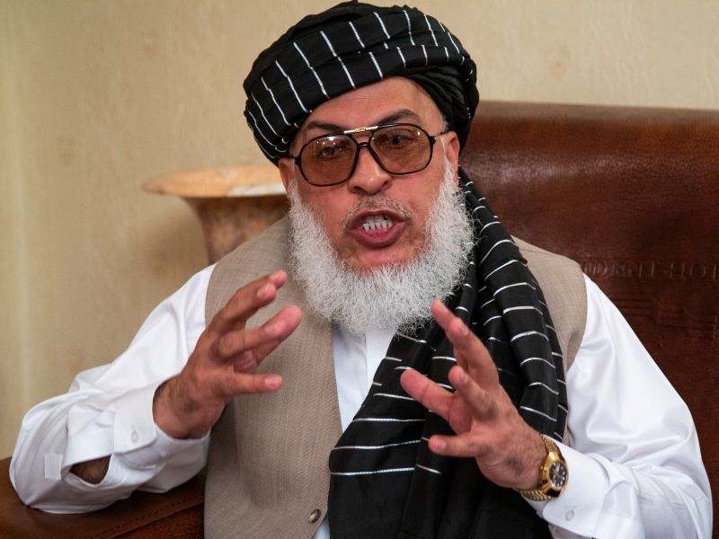 ▲阿富汗武裝組織塔利班(Taliban)政治委員會副主席史塔尼克賽在電視演說中表示,持有效文件的阿富汗人未來任何時候都能自由旅行;他同時呼籲受過教育的專業人士回到工作崗位。資料照。(圖/美聯社/達志影像)