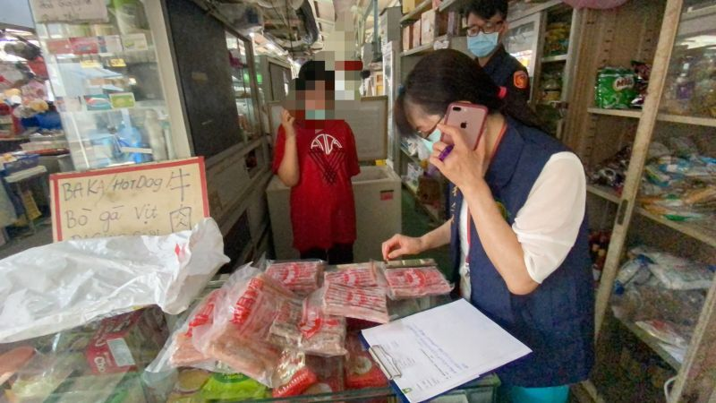 查獲越女販售「越南酸肉」 警、衛生局急動員