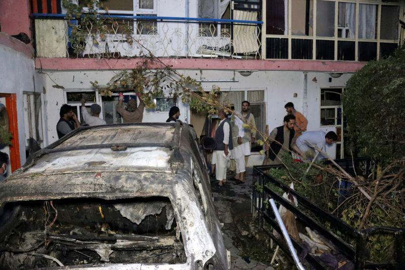 攔截ISIS-K再恐攻!美3天內2次出動無人機 炸掉整車炸彈