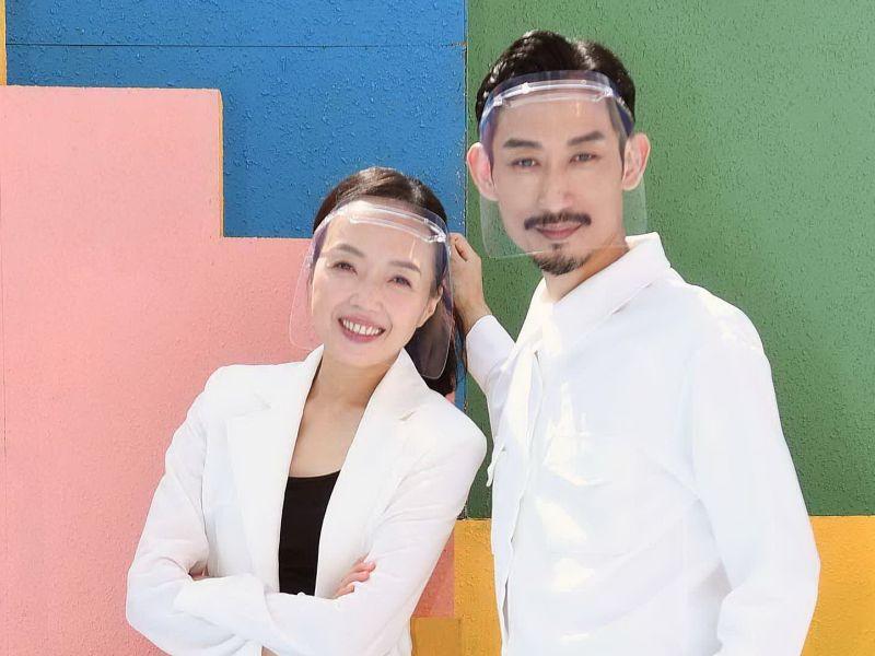▲許芳宜(左)演出陳竹昇初戀情人。(圖/華視、CATCHPLAY提供)