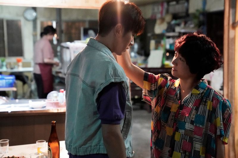▲李國毅(左)、楊麗音對手戲創收視高峰。(圖/華視、CATCHPLAY提供)
