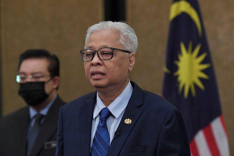 ▲馬來西亞首相辦公室表示,新首相依斯邁沙比利因與一名COVID-19(2019冠狀病毒疾病)患者有過接觸,而必須自我隔離,因此缺席他所籌組內閣30日的宣誓就職典禮。(圖/美聯社/達志影像)