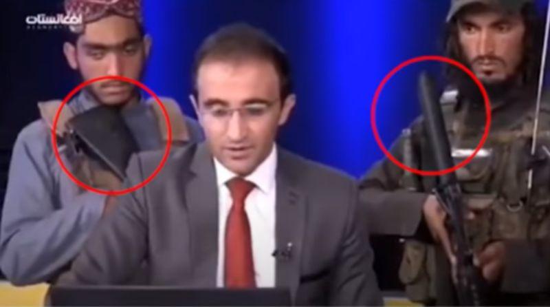 工作中被塔利班包圍!阿富汗男主播「槍口下播報」
