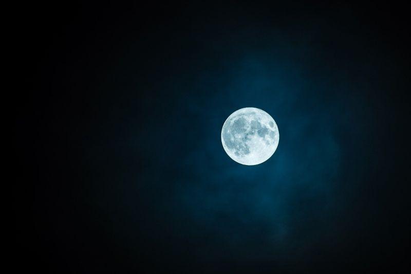 ▲月亮。(示意圖/pixabay)