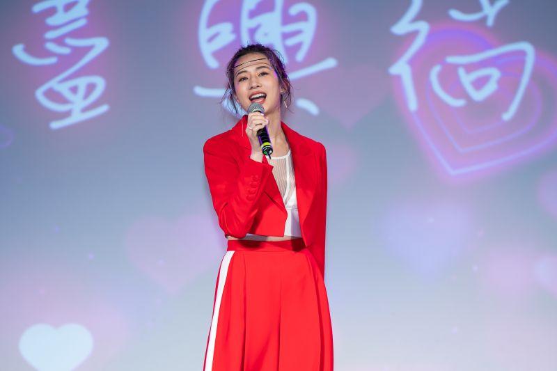 ▲趙岱新笑說自己有可能會閃婚。(圖/TVBS提供)