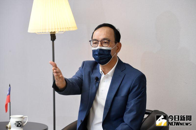 專訪/撕國民黨親中賣台標籤 朱立倫:我從不怕激怒北京