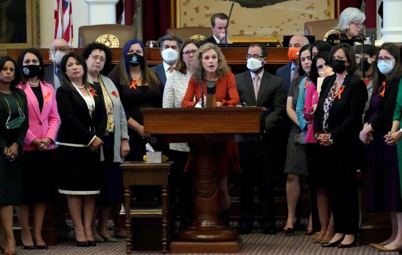 ▲德州州長5月簽署「心跳法案」(heartbeat bill),禁止在偵測到胎兒心跳後執行墮胎,法令於1日生效。資料照。(圖/美聯社/達志影像)