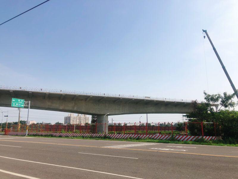 ▲北外環道是台南市重要交通建設之一,正如火如荼進行中。(圖/NOWnews資料照片)