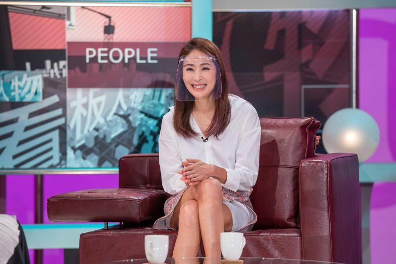 ▲賈永婕擁有爆棚的自信。(圖/TVBS提供)