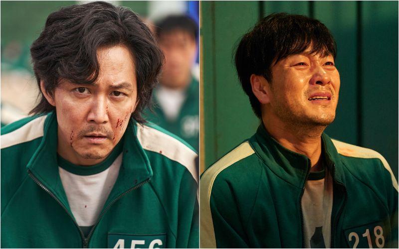 ▲李政宰(左)、朴海秀劇中為了生存,面臨考驗人性的遊戲。(圖/Netflix)