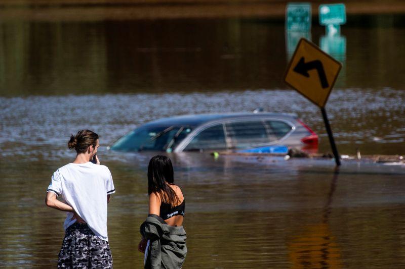 颶風艾達在美東至少釀40死 拜登將赴災區勘災