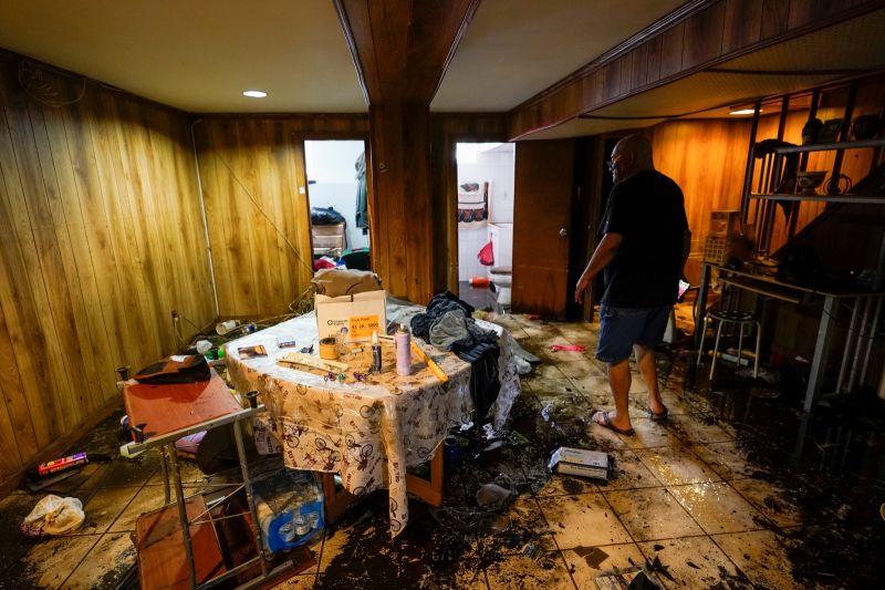 紐約破紀錄豪雨釀災 警報來遲民眾措手不及