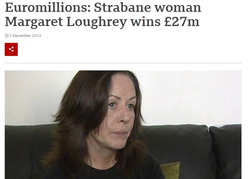 樂透幸運中10億!得主嘆「頭獎毀了我」 她捐5成仍送命