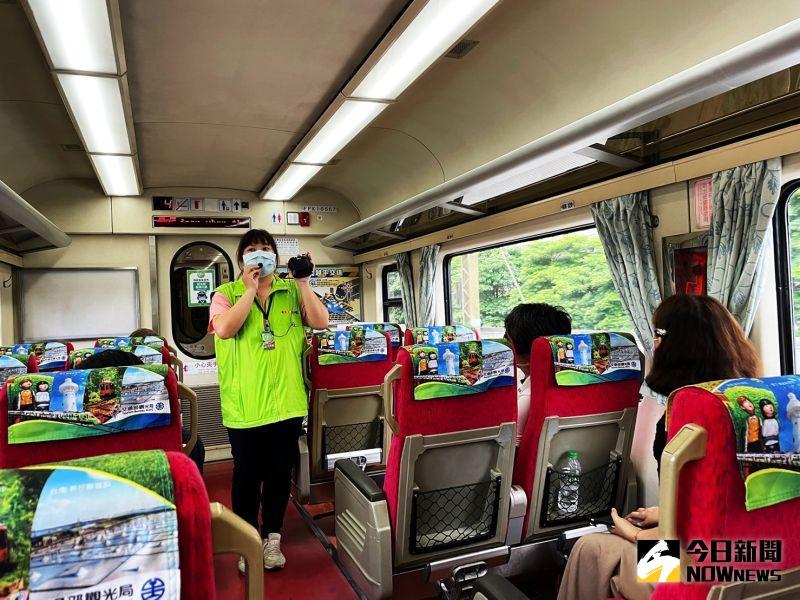 ▲郵輪式列車客製化旅程,沿途火車可以慢速欣賞美景,還有專業領隊解說。(圖/記者劉雅文拍攝)