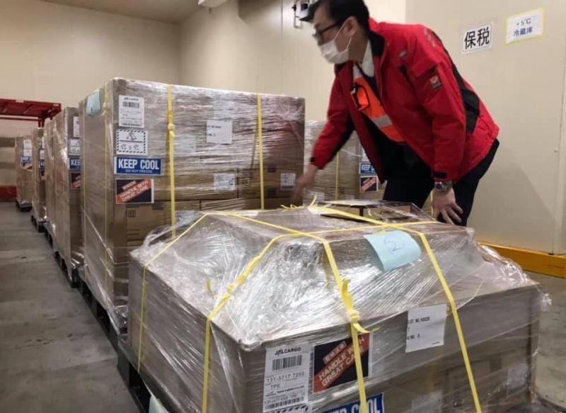 ▲駐日代表謝長廷表示,日本第四批捐台疫苗將於下周出貨,費用由日方全額負擔。(圖/翻攝自謝長廷臉書專頁)