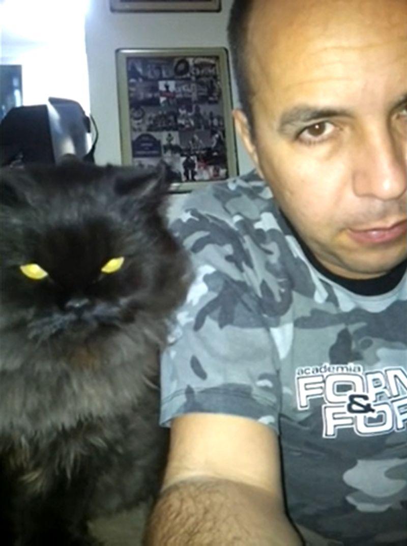 ▲長相霸氣的黑貓。(影/美聯社AP+Jukin