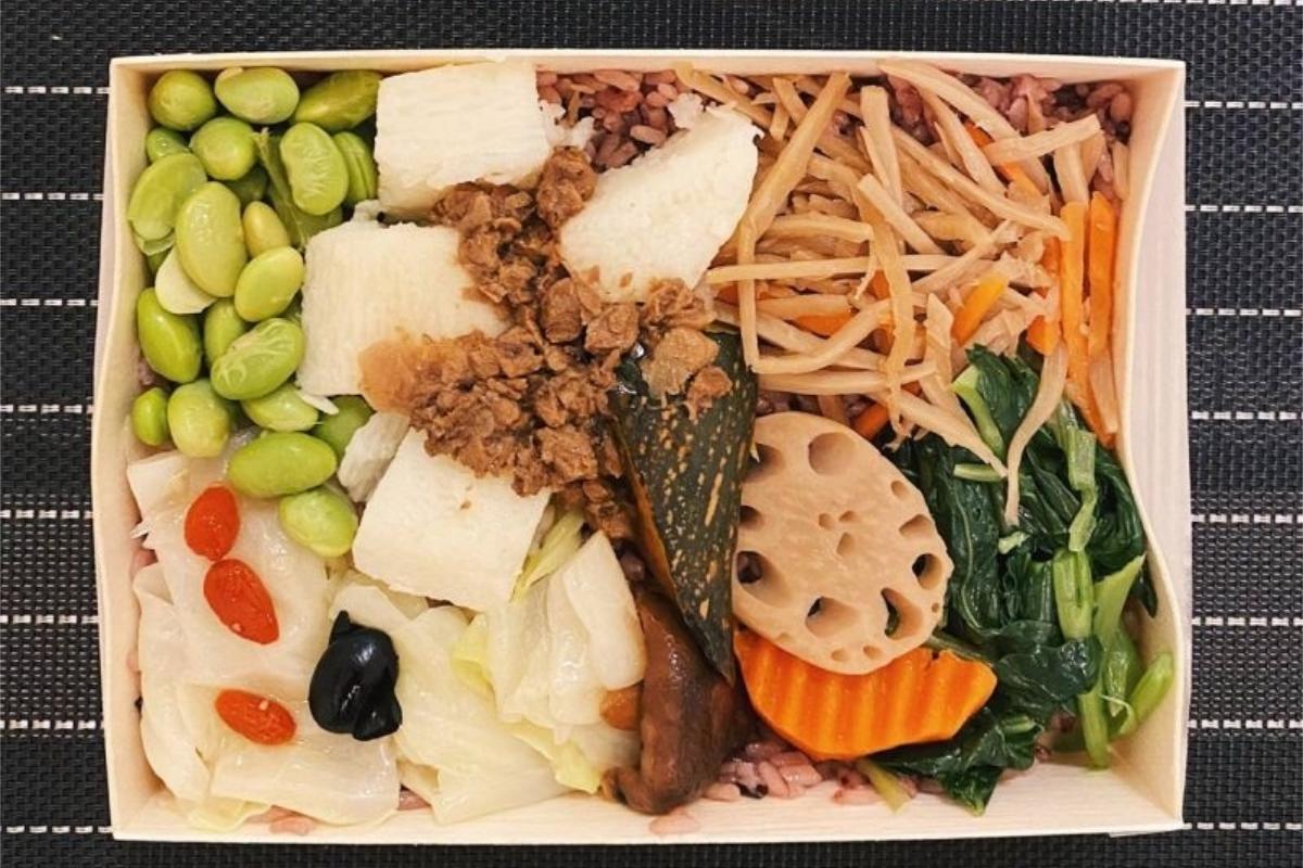 ▲便當常見的搭配方法,多為1主食和3樣配菜。(示意圖/翻攝自pixabay)