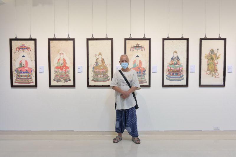 ▲新北市藝文中心第三展覽室自即日起至9月29日展出《心造自然-陳士侯個展》。(圖/新北市政府文化局提供)