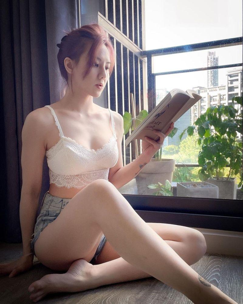 ▲劉雨柔經營女性健身房。(圖/劉雨柔