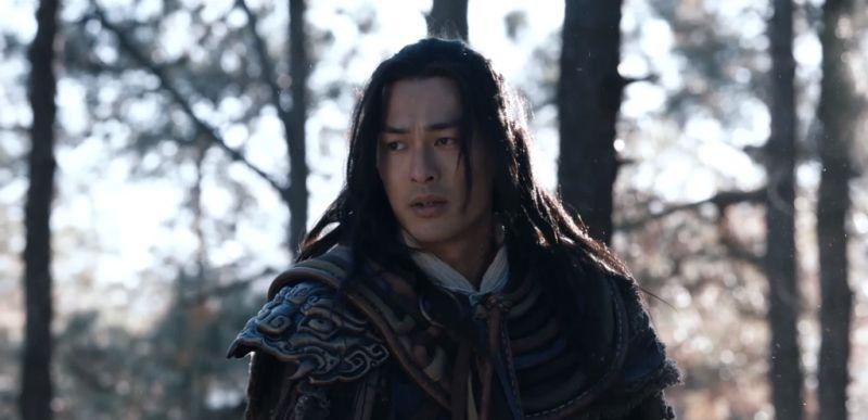 ▲楊祐寧飾演的喬峰是金庸筆下的悲劇人物。(圖/myVideo提供)