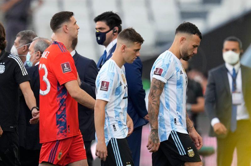 足球/阿根廷4球員違反防疫規定 「巴阿大戰」臨時喊停