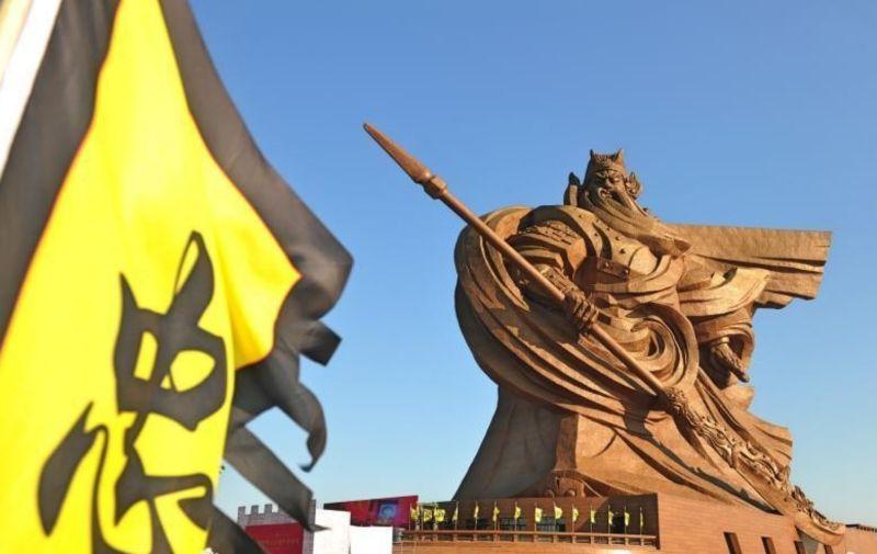 湖北巨型關公像拆除 網友:現代版大意失荊州