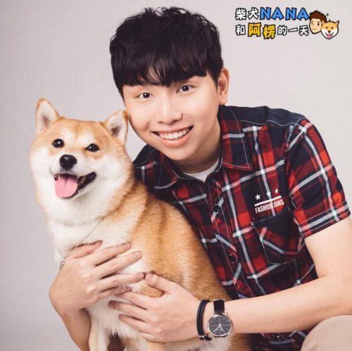 ▲柴犬奈奈和主人阿楞是台灣超人氣的網紅!(圖/柴犬Nana和阿楞的一天授權提供)