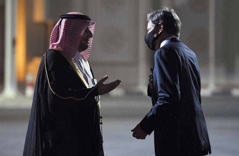 ▲塔利班(Taliban)宣稱完全掌控阿富汗後,美國國務卿布林肯(Antony Blinken)飛抵卡達首都杜哈(Doha),將就阿富汗危機與卡達對話。(圖/美聯社/達志影像)