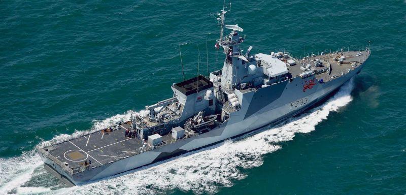 ▲英國皇家海軍新型巡邏艦艇「添馬艦」(HMS Tamar)及「史佩艦」(HMS Spey)將於倫敦時間7日上午自英格蘭東南部朴茨茅斯港(Portsmouth)啟程,展開在印太地區為期至少5年的常態部署。資料照。(圖/翻攝自Navy Outlook)