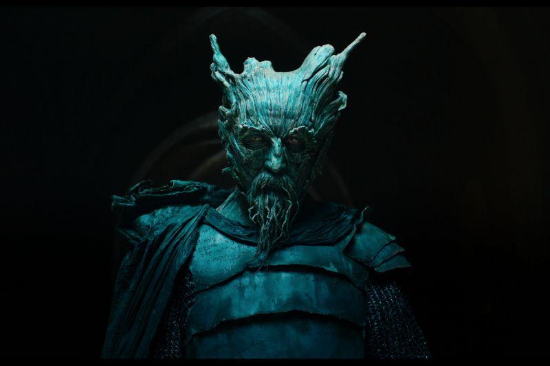 ▲拉爾夫伊內森詮釋綠騎士,特殊化妝讓拍片現場為之震懾。(圖/采昌)