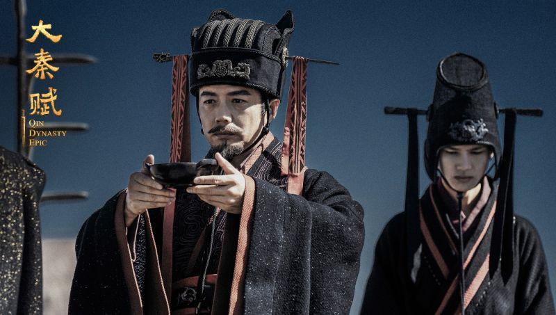 ▲《大秦賦》是段奕宏(左)事隔5年重返小螢幕之作。(圖/緯來)