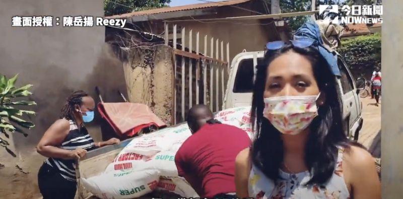 ▲熱愛公益的女孩Yoshi,已經在烏干達協助 7 年。(圖/陳岳揚 Reezy  授權)
