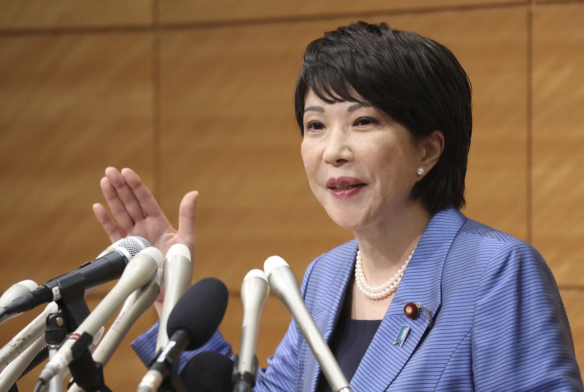 角逐日本首相大位 高市早苗提台海危機因應方案