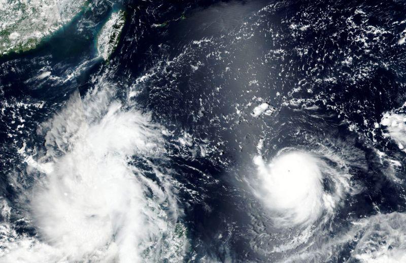 璨樹逼近威脅漸增 中媒:秋颱大多是狠角色