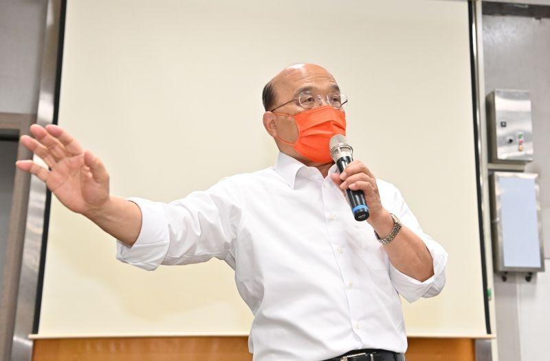 談駐美代表處改名 蘇貞昌:台灣人的本來就叫台灣代表處