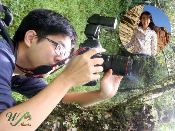 ▲林偉爵與游雅方發起「一周一螳課」計畫,每周更新螳螂相關知識的影片。(圖/林偉爵提供)