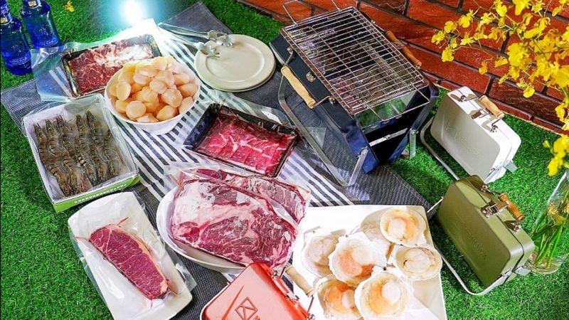 ▲業者推出多樣燒烤組合,滿足民眾各式需求。(圖/486團購提供)