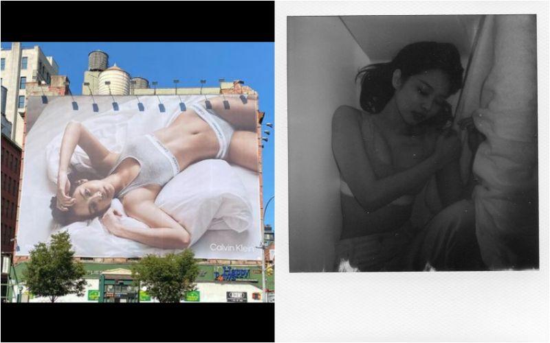 「人間香奈兒」火辣床照被貼紐約街上!本尊竟是GD女朋友