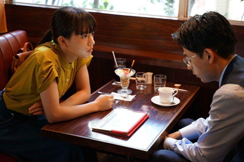▲成田凌(右)片中是戀愛白痴,清原果耶教他如何追女生。(圖/天馬行空)