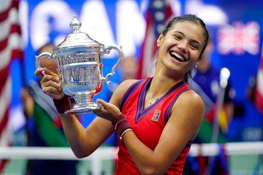 網球/睽違44年!美網女單18歲英國新希望奪冠