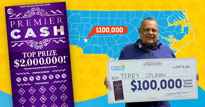 ▲斯普勞恩曾在同一家商店刮出100萬美元,兩年後又刮出100萬美元。(圖/翻攝自《NC