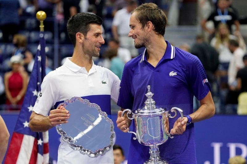 網球/致敬偉大 Medvedev:喬帥就是我心中的GOAT