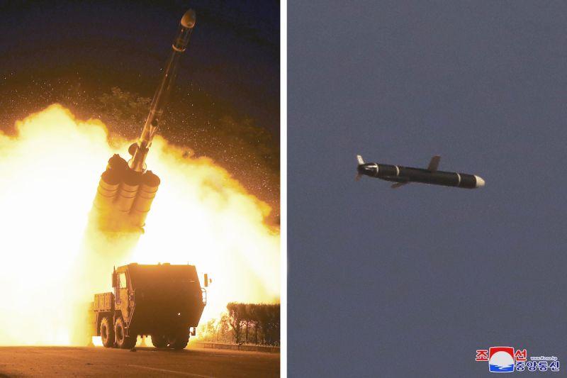 北韓連2天試射新型巡弋飛彈 專家:恐能攜核彈頭威脅增