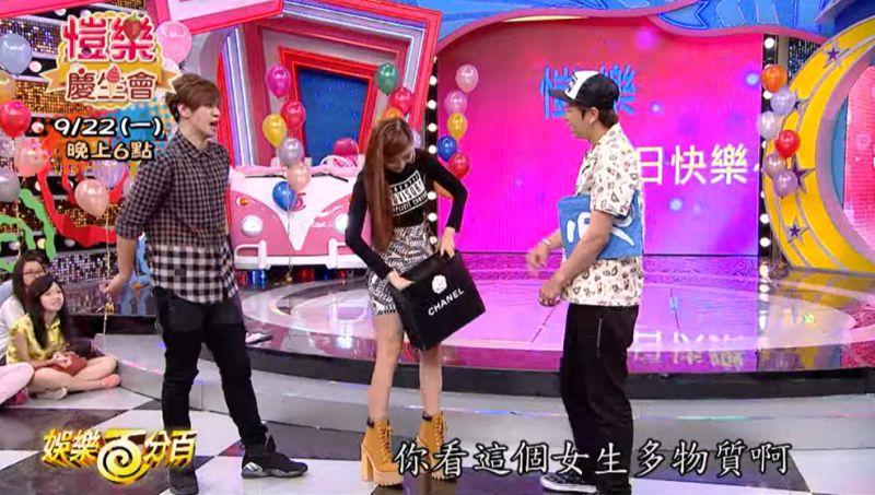 ▲小豬(左起)、愷樂、小鬼同台畫面已成追憶。(圖/娛樂百分百YouTube)