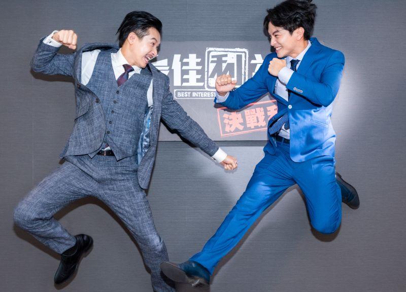▲Darren邱凱偉(左起)、楊銘威入圍金鐘獎男配角。(圖/群之噰傳播有限公司)