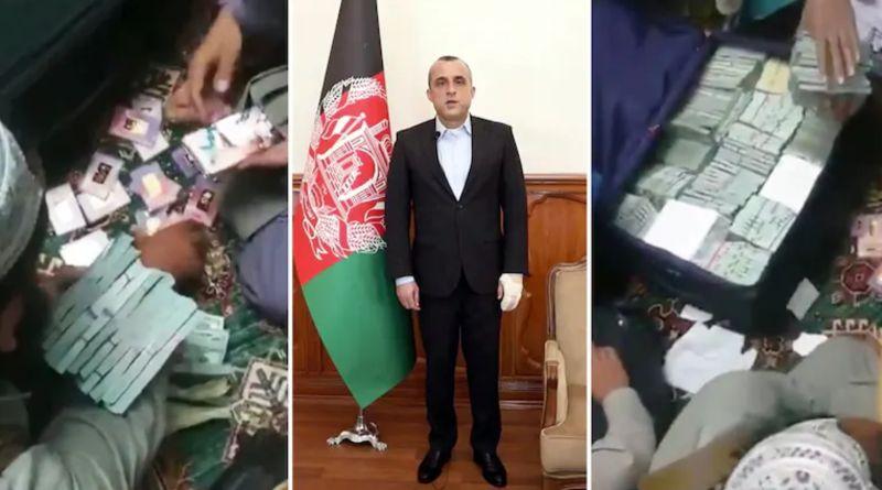 抄了前副總統家還拍片!塔利班號稱 搜到大量現鈔、金條