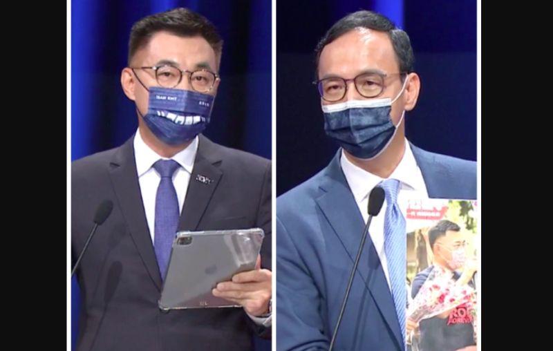 張亞中送考紀會 江啟臣留言朱立倫FB:非我職權望您詳查