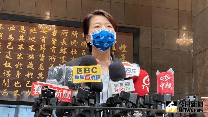 ▲台北市副市長黃珊珊14日表示,北市大致上允許民眾在私人騎樓烤肉,但仍要維持防疫相關規範。(圖/記者丁上程攝,2021.09.14)