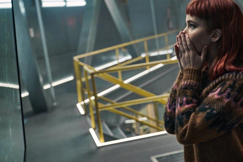 ▲演研究生的珍妮佛勞倫斯,意外發現彗星將撞上地球。(圖/Netflix)